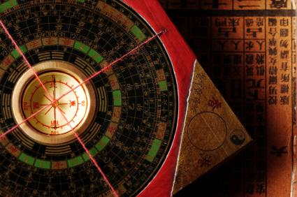 brujula geomántica de Feng Shui