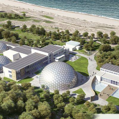 proyecto Aqvam arquitectura sostenible por Alicia Castan