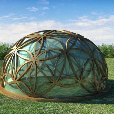Proyecto Residencial Sostenible La Flor de la Vida por Alicia Castan