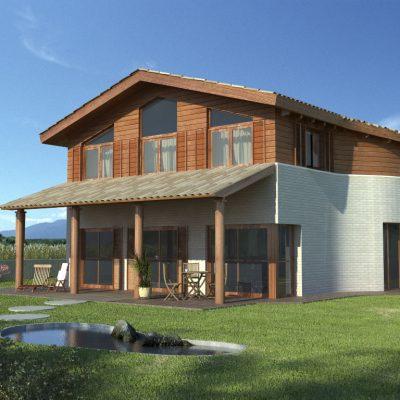proyecto vivienda sostenible casa sana y Feng Shui